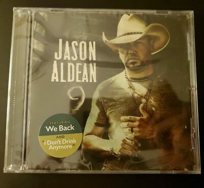 Jason Aldean 9 CD Album 2019 Physical Factory Sealed  Free Shipping