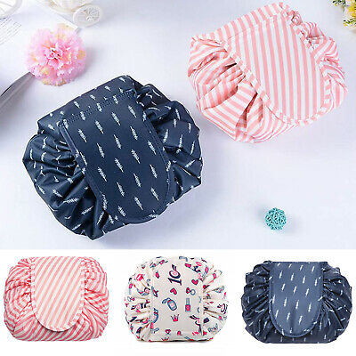 Portable Make Up Case Drawstring Cosmetic Bags Magic Storage Travel Pouch Bag