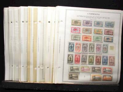 NobleSpirit No Reserve Very Valuable MINT Cameroon Stamp Pages Coll w SSs & BoB