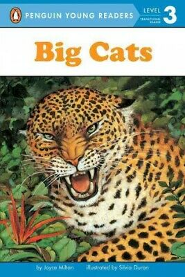 Big Cats, Paperback by Milton, Joyce; Duran, Silvia (ILT), Like New Used, Fre...