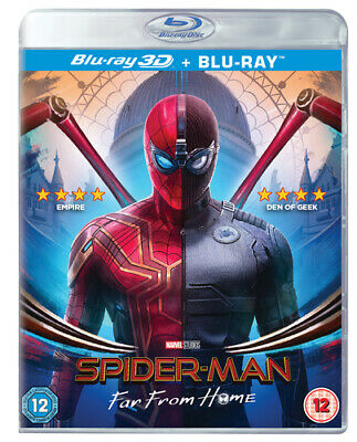 Spider-Man - Far from Home Blu-ray (2019) Tom Holland, Watts (DIR) cert 12 2