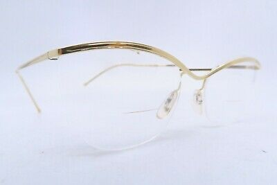 Vintage 50s eyeglasses frames gold filled AMOR made in France splendid