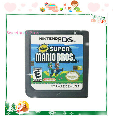 HOT New Super Mario Bros  (Nintendo DS,2006) Game Card For DS 3DS Christmas Gift