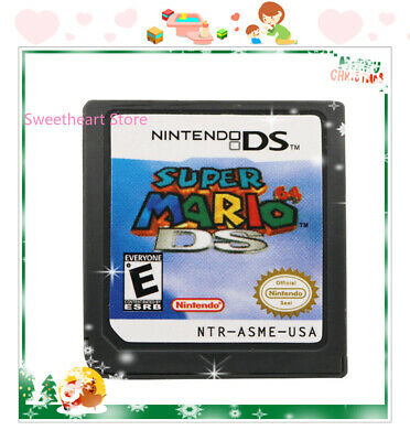 HOT Super Mario 64 DS (Nintendo DS,2004) Game Card For DS 3DS Christmas Gift