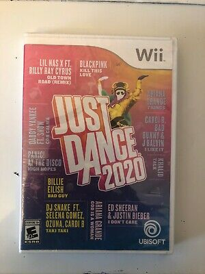 Brand New Sealed Just Dance 2020 Wii - Brand New, Sealed, Free Shipping