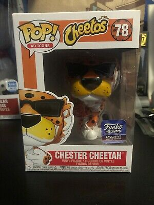 IN HAND Chester Cheetah #78 Funko Pop! Hollywood Grand Opening Exclusive AD ICON