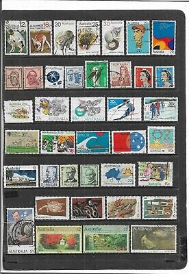 Australia Post-Decimal Stamps Used Collection With Value's To $5 And Animals