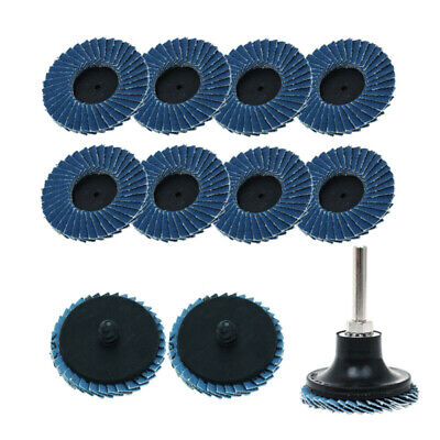 Dark Blue Sanding wheels Lock Grinding With holder Metalworking Supplies