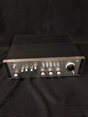 vintage rotel ra-810 solid state stereo amplifier Working