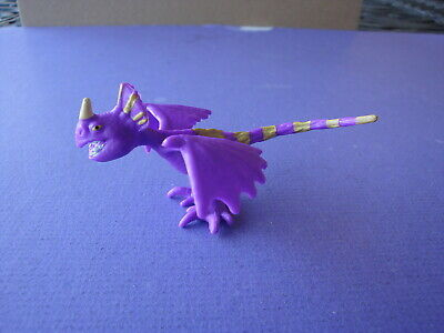 """PURPLE  Deadly Nadder 2 1/2"""" 2013 How to Train Your Dragon Movie Toy Figure"""