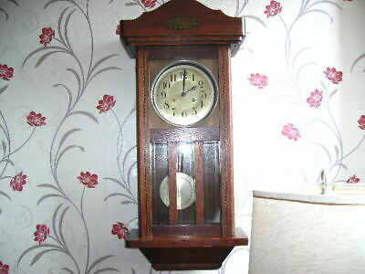 Edwardian wall clock