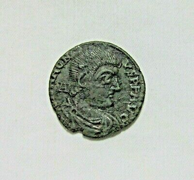 Magnentius. Ae Centenioalis, 350-353 Ad. Trier Mint. Rare Wreath Inscription.