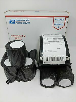 Four (4) Water/Grease Proof 4x6 Direct Thermal Shipping Label Rolls - Dymo 4XL