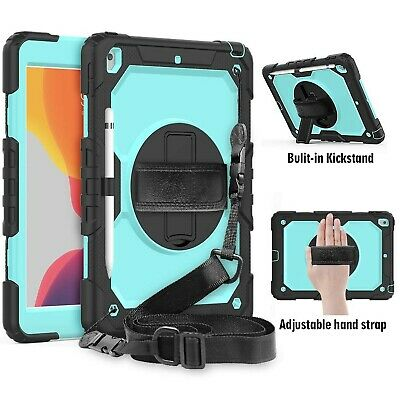 FANSONG iPad 10.2 Case 2019 with Pencil Holder, iPad 7th Generation Case ... New
