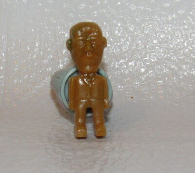 Set of 4 Vintage 1960s Addams Family Rings Gumball Machine Prize