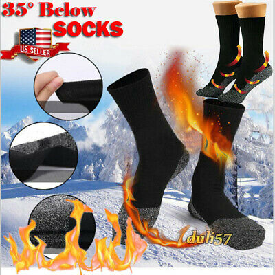 35° Aluminized Keep Feet Long Heat Fibers Insulation Below Socks Thermal Men USA
