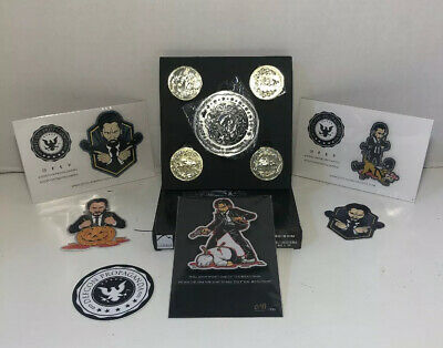 John Wick Moral Patch Defcon Propaganda Only 150 Made Blood Oath Marker Coin Set