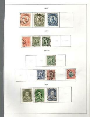 1¢ Wonder's ~ China Used Small Lot On Page All Shown ~ W548