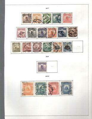 1¢ Wonder's ~ China Used Small Lot On Page All Shown ~ W546