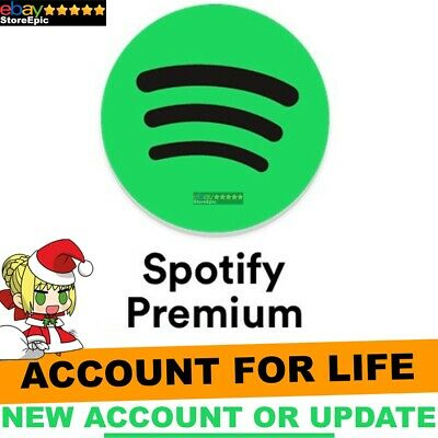 Spotify Premium LIFETIME | Upgrade Warranty New or Old Account - Worldwide