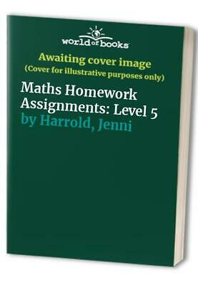 Maths Homework Assignments: Level 5 by Harrold, Jenni Paperback Book The Fast