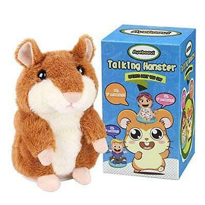 Ayeboovi Toys for 2 Year Old Talking Hamster Repeats What You Say Educational