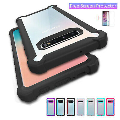 New Shockproof Silicone Case Cover For Samsung Galaxy Note 10 9 S10 S9 S8 Plus