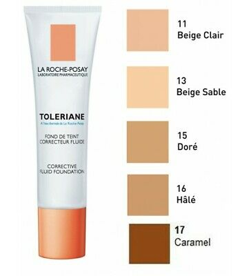 La Roche-Posay Toleriane Teint Fluid Foundation 30ml HaleTan Expiry May 2020
