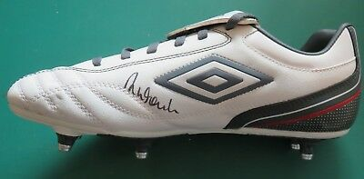 Robbie Fowler Signed Football Boot Liverpool Legend COA AFTAL