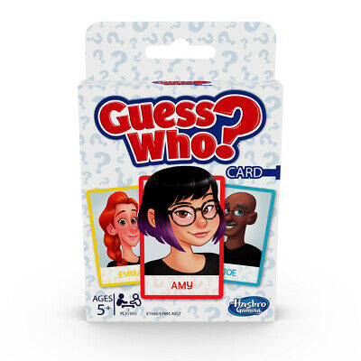 Guess Who? Card Game for Kids Ages 5 and Up 2 Player Guessing Game  Toy
