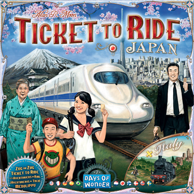Ticket to Ride: PRESALE Map Collection V7 - Japan and Italy days of wonder New