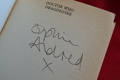 Doctor Who: DRAGONFIRE Target Book Signed by Sophie Aldred