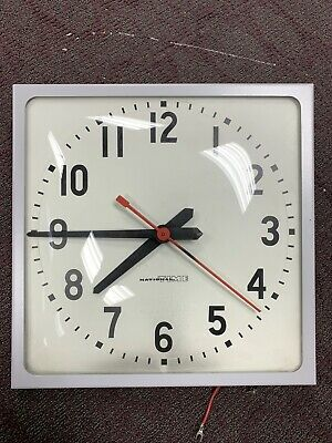 """National Time Square System Clock EX-HH 12"""""""