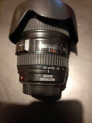 Canon EF 24-105mm F/4 L IS USM Lens in god condition