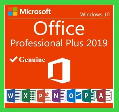 Microsoft Office 2019 Professional Plus ✔ Official Download & Key -Fast Delivery