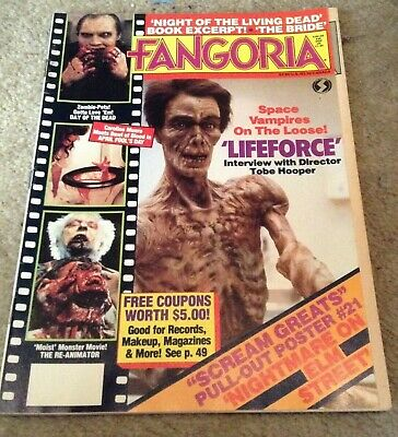 FANGORIA # 46 Lifeforce Night of the Living Dead Day Of The..FREE SHIPPING USA