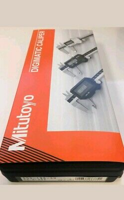 """Mitutoyo 500-196-30 Absolute Digimatic Caliper 0-6""""150mm Range BRAND NEW Authent"""