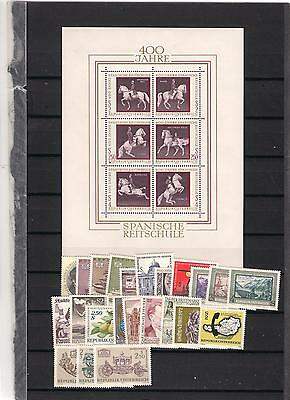 1972 MNH Austria year complete