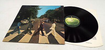 THE BEATLES 'Abbey Road' Vinyl LP Aligned Apple NO 'Her Majesty' Cover - C73