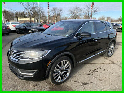 2016 Lincoln MKX Reserve 2016 Reserve Used Turbo 2.7L V6 24V Automatic AWD SUV
