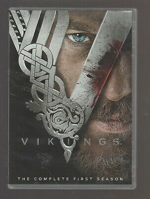 'Vikings' The Complete First Season Dvd 3 Discs