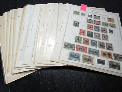 NobleSpirit No Reserve } Incredible Canal Zone Stamp Page Collection = $615+ CV!