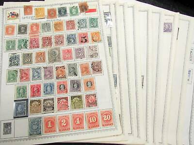 NobleSpirit No Reserve Superb $2,000+ CV Chile Stamp Pages Coll w Imperf