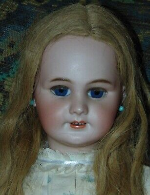 "ANTIQUE BISQUE Doll 24"" JUMEAU DEP 10"