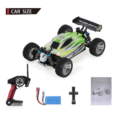 WLtoys A959-B 1:18 RC Auto 4WD 2.4GHz Off Road RC Trucks 70KM / H  High Speed DE