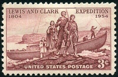 USA 1954 (2 for $1 Auction) - Lewis and Clark Expedition Issue - MNH - Sc. #1063