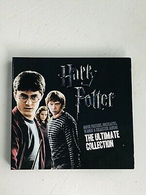 HARRY POTTER The Ultimate Collection Folder + 3 Wands - Complete Selection