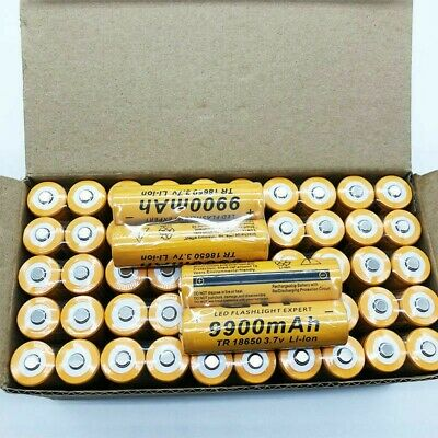 Quality Newest Arrival Batteries Tr 18650 3.7V 9900Mah Rechargeable Li-ion Lot