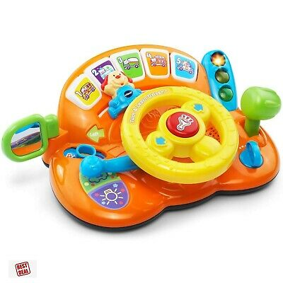 VTech Learning / Educational Steering Wheel Toys For 1 2 3  Year Old Baby/Kids