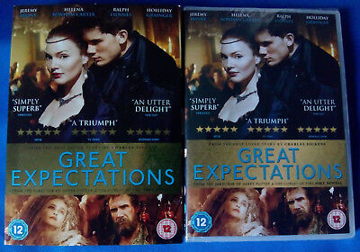 GREAT EXPECTATIONS (2012) DVD * NEW SEALED * RALPH FIENNES * FREE 1st CLASS P&P